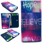 Hope Believe Love Money Wallet Case Cover For Phone Asus Huawei Samsung
