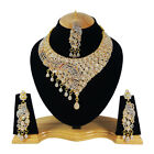 8 Styles White Color Bollywood Gold Plated Kundan Zerconic Jewlery FASHION EDH