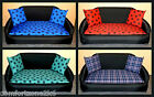 ZIPPY MEDIUM SOFA BED WATERPROOF BACKED POLYESTER WASHABLE LOOSE COVERS wipe paw