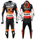 HONDA CX REPSOL MOTORBIKE MOTORCYCLE RACING LEATHER SUIT FULL PROTECTION