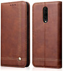 OnePlus 7+7 Pro Case Cover Premium Quality PU Leather Flip Card Magnetic Holder