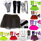 NEON TUTU SKIRT SET  80S FANCY DRESS HEN PARTY