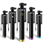 2015 Mini Monopod Selfie Stick WIRED+FOLDABLE Mobile Phone Holder Plug-and-Play