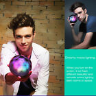 Magic Color Ball Wireless Bluetooth Speaker LED Lamp With SD/TF Remote Control