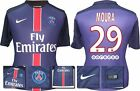 *15 / 16 - NIKE ; PSG HOME SHIRT SS / MOURA 29 = SIZE*