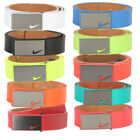 New Nike Mens Sleek Modern Plaque Leather Golf Belt - Pick Color