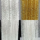 10/100Pcs Gold/Silver Plated Filigree Metal Chain Necklace Jewelry Finding 18.9""
