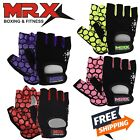 Women Weightlifting Gloves Fitness Gym Training New Ladies Workout Short Finger
