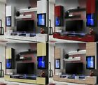 Modern Cabinet Wall Unit Living Room TV Set Cupboard Led Display Furniture Stand