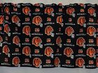 "Cincinnati Bengals NFL Football Valance Curtain Choose:40"", 52"", 80"" x 13"""