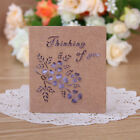 Kraft Paper Greeting Card Blessing Greeting Message Christmas Birthday Card
