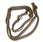 "Chain Necklace Handmade Antiqued Brass Cable ALL SIZES 16"" to 50""  -  5 or 1 Qty"