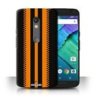 STUFF4 Back Case/Cover/Skin for Motorola Moto X Play 2015/Racing Car Stripes