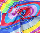 New Women Fashion  Multi-Color Swirl Satin Scarf 20x20 Scarves 102