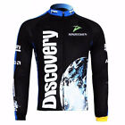 Discovery Long Sleeve Men's Cycling Jerseys Bike Bicycle Clothing Jackets Tops
