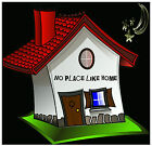 NO PLACE LIKE HOME - FUN NOVELTY COASTERS - EASY CLEAN - BRAND NEW - GIFT/ XMAS