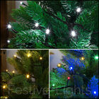 100 LED FAIRY STRING CHRISTMAS XMAS TREE INDOOR MULTI FUNCTION PARTY LIGHTS 10M