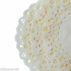 "IVORY Off White PAPER Lace DOILIES || 4"" 6"" 8"" 10"" 12"" 