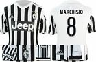 *15 / 16 - ADIDAS ; JUVENTUS HOME SHIRT SS / MARCHISIO 8 = KIDS SIZE*