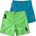 New Polo Ralph Lauren Big Pony #3 Board Trunks Swim Shorts S M L XL 2XL