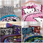 ONE DIRECTION, AVENGERS, TRANSFORMERS OR HELLO KITTY 3 Pc TWIN SHEET SET ~ NEW!!