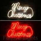63CM OUTDOOR GARDEN NEON FLEX MERRY CHRISTMAS SILHOUETTE DECORATION LED LIGHT