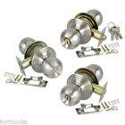 Door knob handle lock Entrance, passage and privacy.Stainless Steel