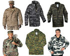 Field Jacket M-65 Camo Military Coat With Liner Rothco
