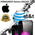 FACTORY UNLOCK PREMIUM SERVICE ATT IPHONE 6S 6S+ Plus 5 5S 5C 4 4S 6 6+ AT T 3gs