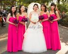 2016 New Bridesmaid Prom Dressses Evening Dress Party Wedding Gown New Arrival
