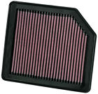 K&N Air Filter Element 33-2342 (Performance Replacement Panel Air Filter)