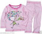 Girls Time For Bed Cotton Long Pyjamas 12 18 2 3 4 5 Years