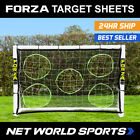 FOOTBALL GOAL TARGET SHEETS - SELECT YOUR SIZE! [From 5ft x 4ft To 24ft x 8ft!]