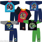 Boys Marvel Avengers DC Hulk Captain America Iron Man Batman Long Pyjamas