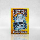 Bicycle Club Tattoo Deck Playing Cards Skin Art Blue and Yellow Standard Poker