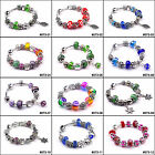 Hot Fashion European Style Charm Crystal Murao Glass Bracelet for friend #073