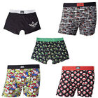 Nintendo Super Mario Mens Cotton Boxer Shorts New & Official With Tag Sizes S-XL