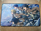 Attack on Titan YGO VG MTG CARDFIGHT Game Large Keyboard Mouse Pad Playmat #15