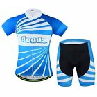 Breathable Cycling Clothing Quick-Dry Suit Jersey Short Sleeve Bike (BIB) Shorts