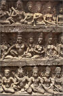 Poster / Leinwandbild Stone carvings, Angkor Wat, UNESCO World... - A. Stewart