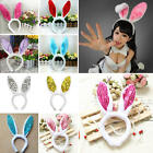 Fashion Cute Girls Bunny Rabbit Ear Cool Headband Plush Hair Band Party Supply