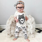 Newborn Baby Girls Boys Short Top+pants Trousers Clothing Outfit Ropa De Bebe