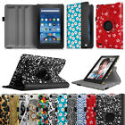 For Amazon Fire 7 2015 5th Generation Tablet Rotating Case Swivel Stand Cover