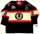 DUNCAN KEITH CHICAGO BLACKHAWKS CCM VINTAGE 2009 WRIGLEY WINTER CLASSIC JERSEY