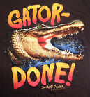 History's Swamp People - Gator Done Men's Graphic T-Shirt (Brown) image