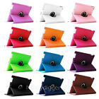 12 Colors Rotating PU Leather Case Stand Cover for iPad 4/3/2 9.7 Inch Tablet