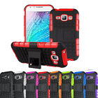 Rugged Armor Hybrid Case Stand Hard Shockproof Cover Skin For Samsung Galaxy J1
