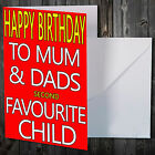 COMEDY BIRTHDAY CARD FOR SIBLING BROTHER SISTER FUNNY