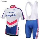 2016 Women Sports Suit Cycling Ropa Clothing Bike Short Sleeve Jersey Bib Shorts