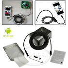 6 LED 7mm Endoscope Waterproof Inspection Borescope Camera Cable For Android